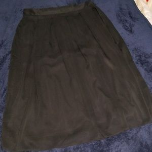 Roz And Ali- Black pleated skirt.